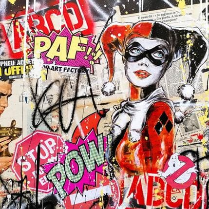 David Drioton Miss Harley 80 x 80 cm