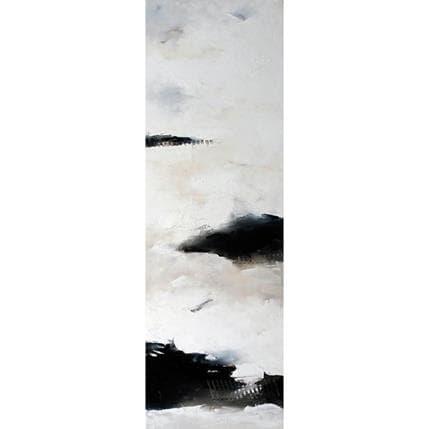 Nathalie Dumontier Un long et épais silence 40 x 120 cm