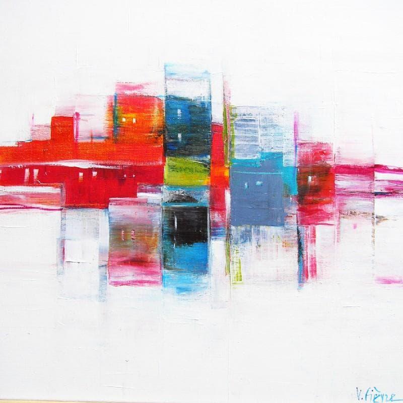 La ville - Impression colorée