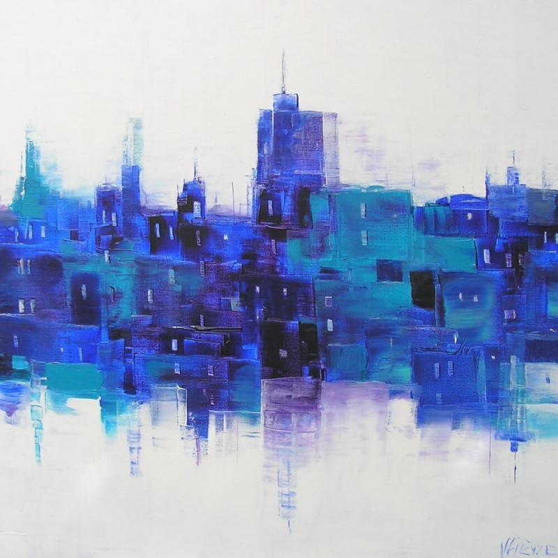 Bleus sur la ville