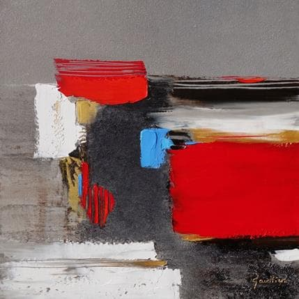 Dominique Gaultier Composition 50 x 50 cm