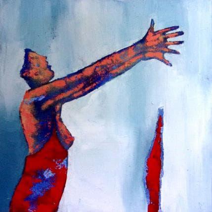 Corinne Malfreyt-Gatel Amoureuse 50 x 50 cm