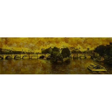 Yohann Gloaguen En Seine 120 x 40 cm