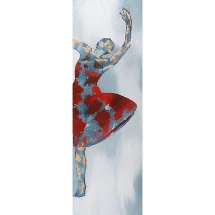 Corinne Malfreyt-Gatel La danse 40 x 120 cm