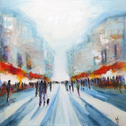 Christian Raffin Boulevard d'ailleurs 100 x 100 cm