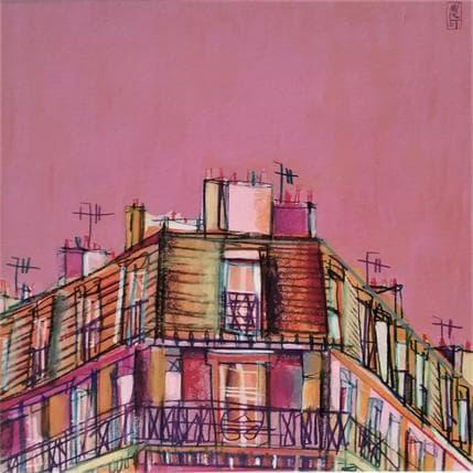 Anicet Olivier Les couleurs du quartier 36 x 36 cm