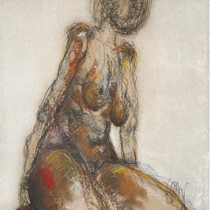 François Sahuc Régine 50 x 50 cm