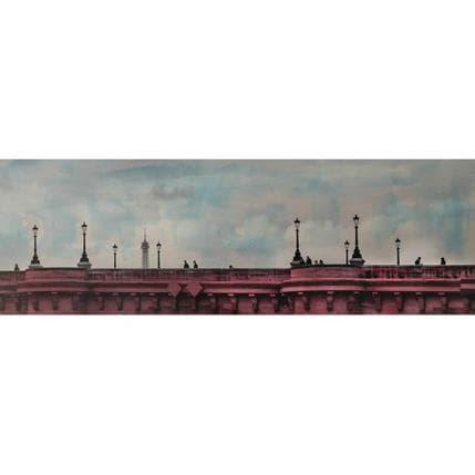 Yohann Gloaguen Pont neuf 120 x 40 cm