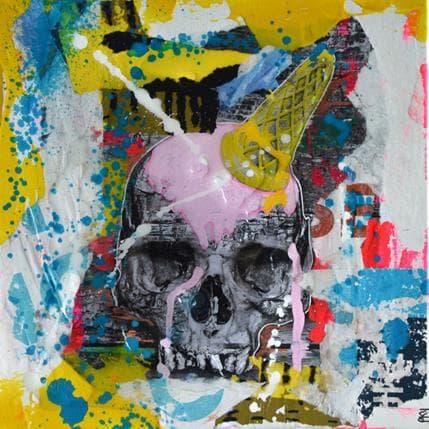 Pookky Ice skull 25 x 25 cm