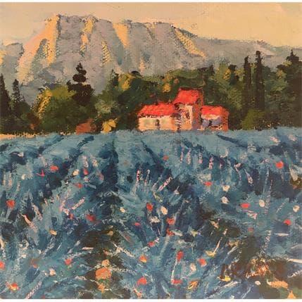 Arkady Montagne Ste victoire 13 x 13 cm