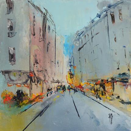 Christian Raffin Petite rue 25 x 25 cm