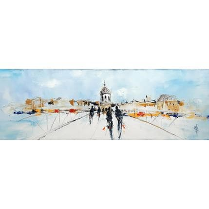 Christian Raffin Pont des arts 120 x 40 cm