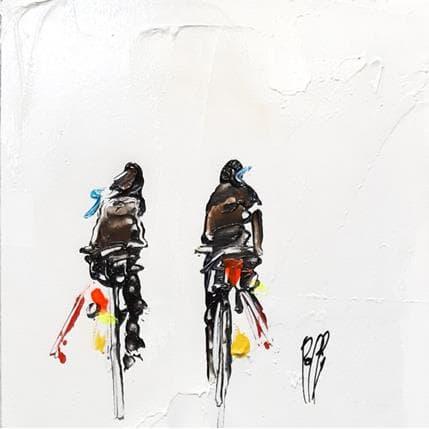 Christian Raffin Matin balade 13 x 13 cm