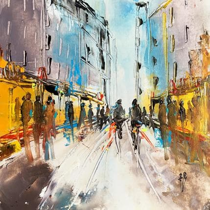 Christian Raffin Rue shopping 25 x 25 cm