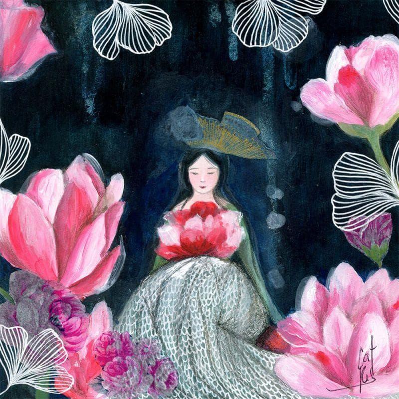La Madone des fleurs