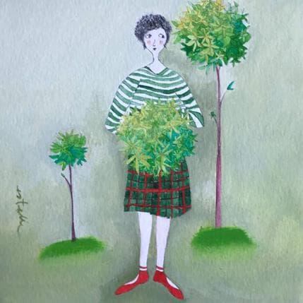 Estelle Régent Je suis un arbre 3 13 x 13 cm