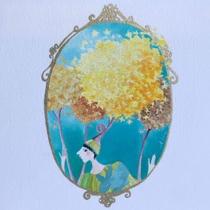 Estelle Régent Marquise lapine 19 x 19 cm