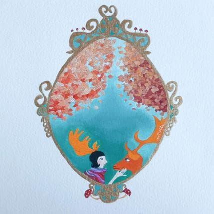 Estelle Régent Marquise des bois 19 x 19 cm