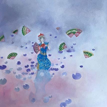 Estelle Régent Danseuse de la rosée 25 x 25 cm