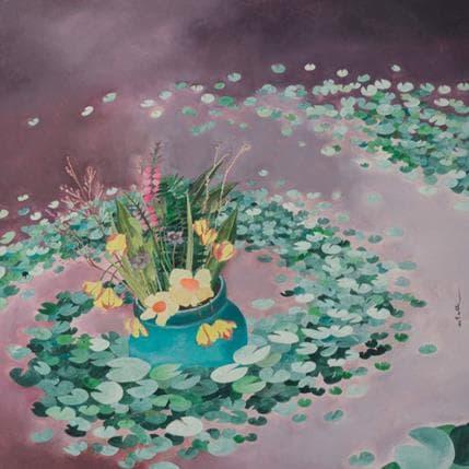 Estelle Régent Fleurs de Boma 36 x 36 cm
