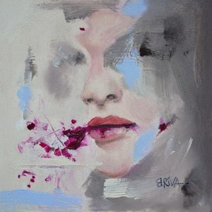 Béatrice Riva Pale memories 13 x 13 cm