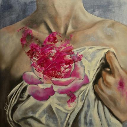 Béatrice Riva Hidden heart 36 x 36 cm