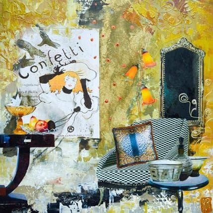 Karine Romanelli Confetti 36 x 36 cm
