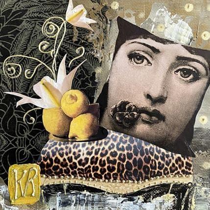 Karine Romanelli Lemon 13 x 13 cm
