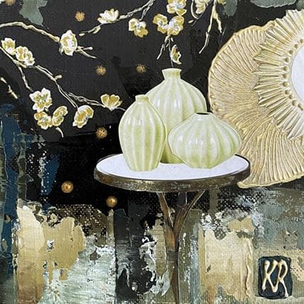 Karine Romanelli Jardin Zen 13 x 13 cm