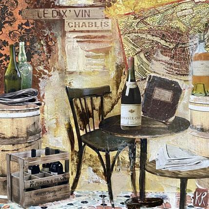 Karine Romanelli Chablis 25 x 25 cm