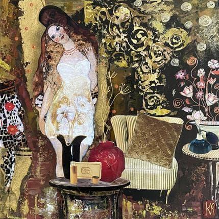 Karine Romanelli La belle histoire 36 x 36 cm