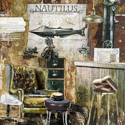 Karine Romanelli Nautilus 36 x 36 cm