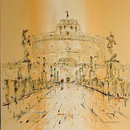 Patrick Rousseau Castel San Angelo 80 x 80 cm