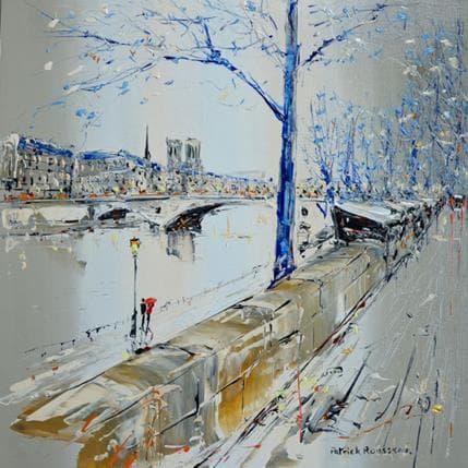 Patrick Rousseau Marcher le long du quai 36 x 36 cm