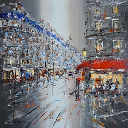 Patrick Rousseau Le café royal 36 x 36 cm