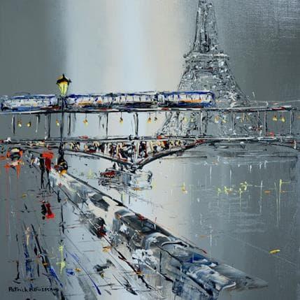 Patrick Rousseau Dimanche soir 36 x 36 cm