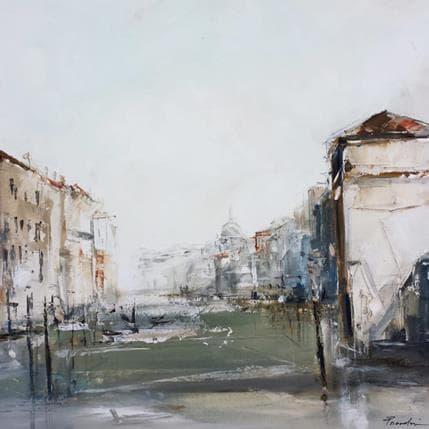 Richard Poumelin Venise 36 x 36 cm