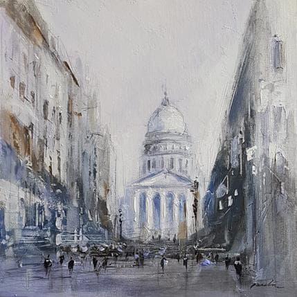 Richard Poumelin Panthéon 25 x 25 cm