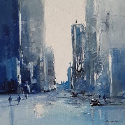 Richard Poumelin Turbulence 25 x 25 cm