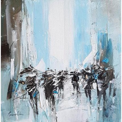 Richard Poumelin Pluie 13 x 13 cm