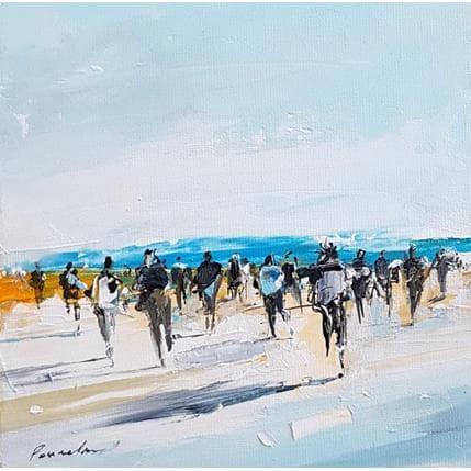 Richard Poumelin Le retour 13 x 13 cm