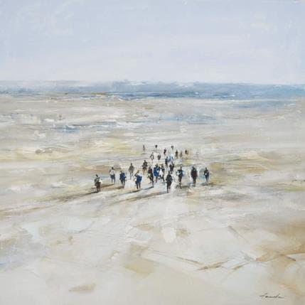 Richard Poumelin Sans titre 36 x 36 cm