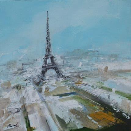 Richard Poumelin Paris aérien 13 x 13 cm