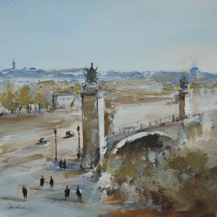 Richard Poumelin Vue Parisienne 25 x 25 cm