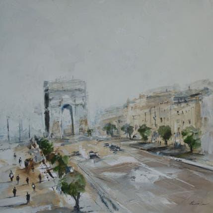 Richard Poumelin Gloire Parisienne 25 x 25 cm