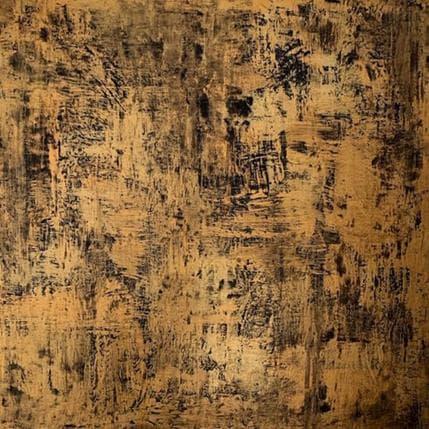 Sophie Rocco Labyrinthe d'or 80 x 80 cm