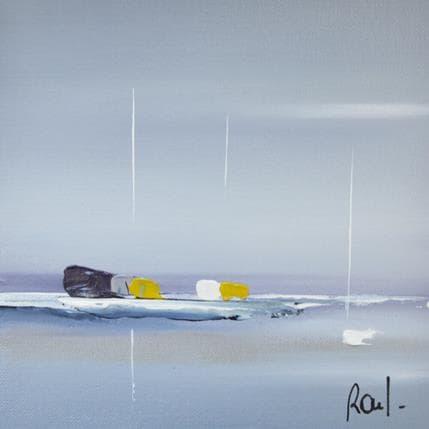 Marie-Ange et Fanny Roussel Horizon marin 13 x 13 cm
