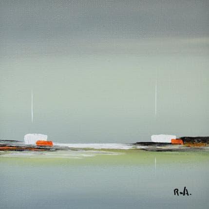 Marie-Ange et Fanny Roussel Impression marine 13 x 13 cm