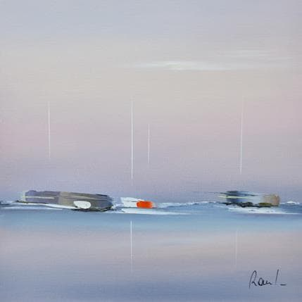 Marie-Ange et Fanny Roussel Emotions marines 25 x 25 cm
