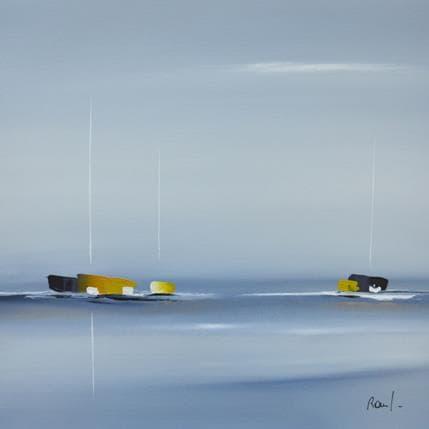 Marie-Ange et Fanny Roussel Impression marine 36 x 36 cm